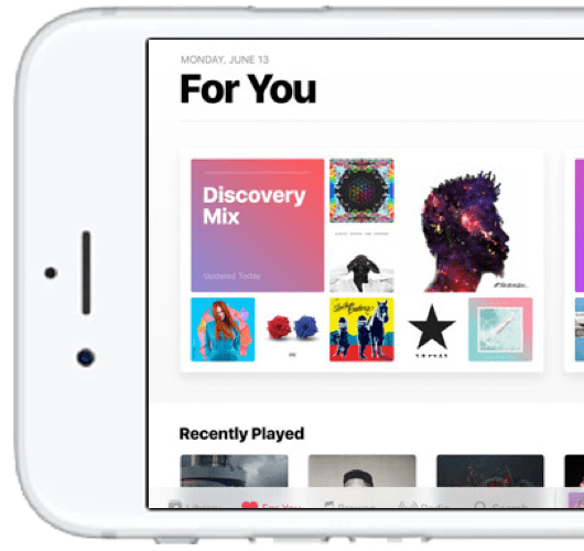 Apple Music iOS 10