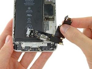 ремонт аудио разъема iphone
